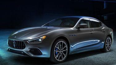 maserati ghibli hybrid, 2021, hybride, elektrische auto, 1