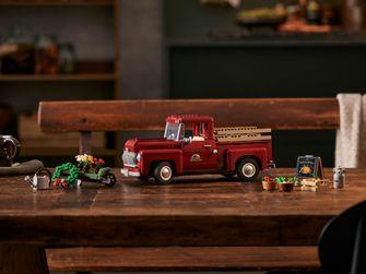 Pick-up Truck: LEGO onthult nostalgisch bouwmodel voor volwassenen