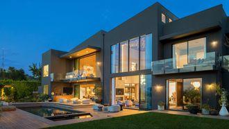 villa, john legend, chrissy teigen, verlies, LA, los angeles, design