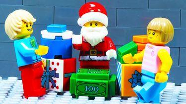 machine, lego, papapier, kerstcadeau's