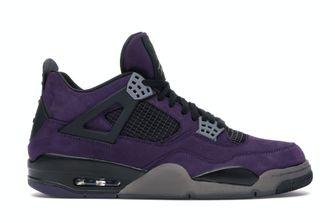 Jordan 4 Retro Travis Scott Purple (Friends and Family), sneakers, sneaker, duurste, StockX