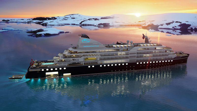 seadream yacht club, seadream innovation, cruise, cruiseschip, superjacht, antarctica, noordpool