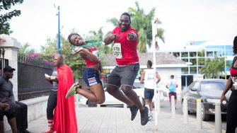 kingston city run, marathon, jamaica, travel