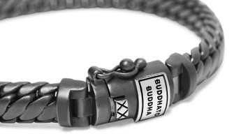 Ben XS Bracelet Black Rhodium Silver, buddha to buddha, armband, cadeau