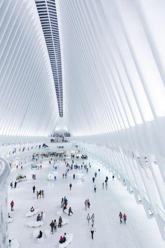 world trade center transportation hub, oculus, new york, wikimedia, ground zero master plan, 9 11, 11 september, architectuur