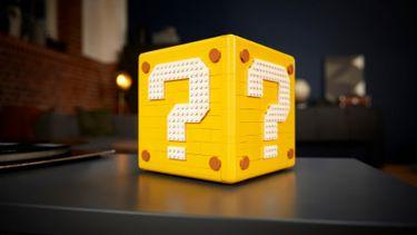 LEGO, Super Mario 64 Block, vraagteken, box