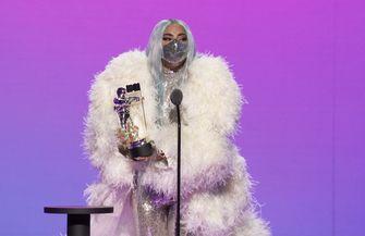 lady gaga, mtv vma's 2020, mondkapje