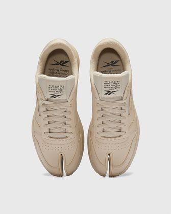 maison margiela reebok classic tabi, sneakers, cameltoe, 1