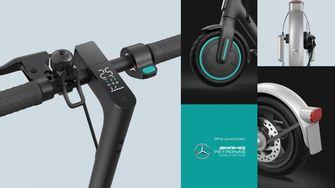 elektrische step, Mercedes-AMG Petronas F1 Team, Xiaomi Mi Pro 2