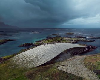 dorte mandrup, the whale, noorwegen, architectuur, walvis, eiland, andoya