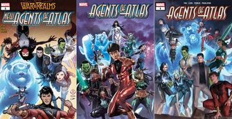 Agents of Atlas Aziatische Avengers Marvel Shang-Chi and the legend of the ten rings Marvel Simu Liu