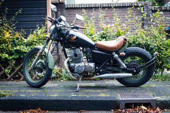 drie betaalbare custom bikes 6000 euro