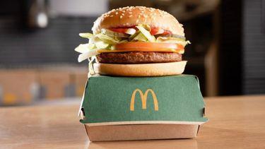 mcplant, eerste vegan burger, mcdonald's