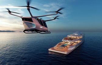 aqua, sinot, jacht, superjacht, waterstof, bill gates