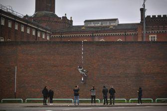 banksy, great escape, gevangenis, reading, bob ross, street-art
