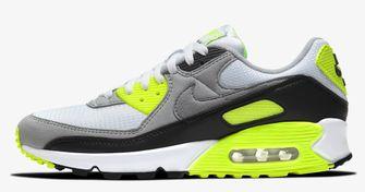 gele sneakers, nike air max 90, 2020, trend