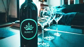 burdi w, wijn, wiet