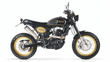 Bullit Hero 250 cc, motor, scrambler, 2021