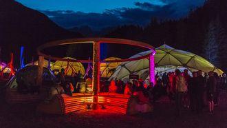 The North Face Mountain Festival kampvuur