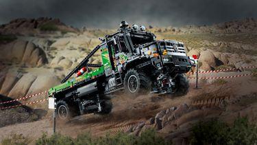4x4 Mercedes-Benz Zetros Trial Truck, lego