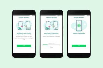 WhatsApp maakt overstappen van iOS naar Android (en andersom) eindelijk makkelijk