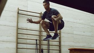 cristiano ronaldo, thuis trainen, nike, workout, zonder gewichten