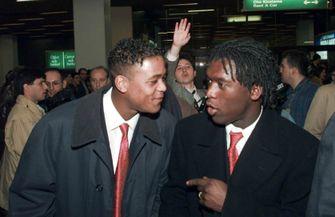 looks, nederlandse voetballers, jaren 90, clarence seedorf, patrick kluivert
