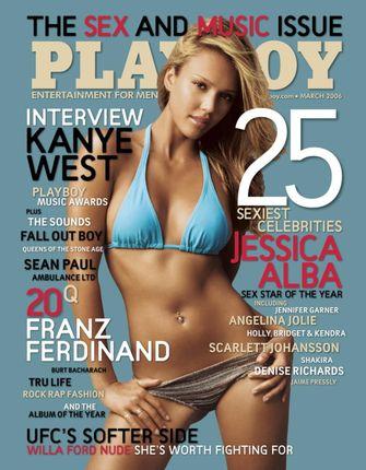 jessica alba, playboy cover, 2006, beroemdheden
