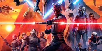 f Star Wars: The Clone Wars premieres on Disney Plus