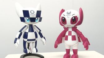 Maraitowa en Someity, tokyo 2020, olympische spelen, japan, robots, tokio