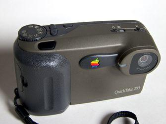 apple quicktake, digitaal fototoestel, flop, 1994, digitale camera