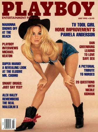 playboy cover, kerstnummer, beroemdheden, pamela anderson