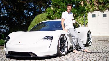Mark Webber in Porsche Mission E