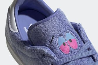 south park adidas campus 80, sneakers, towelie, 3