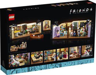 lego, friends, bouwset, appartementen, details, scenes