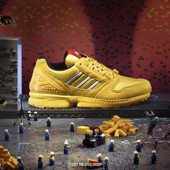 adidas ZX 8000 x LEGO, sneakers, primaire kleuren, geel