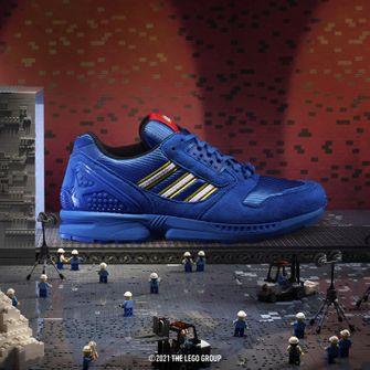 adidas ZX 8000 x LEGO, sneakers, primaire kleuren, blauw