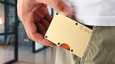 anti-microbiële portemonnee, grid, pasjeshouder, virusdeeltjes