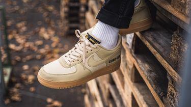 nike air force 1, gore-tex, sneakers, winter