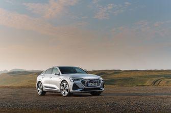 Audi, e-tron, Elektrische, Auto, Van, Het, Jaar