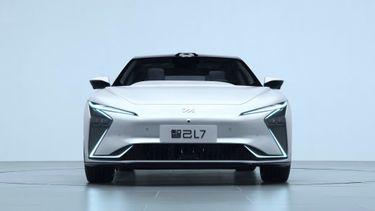 Alibaba, elektrische auto, Zhiji L7