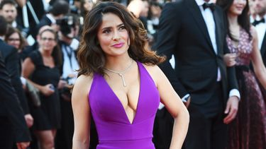 salma hayek, fotos, beach body, strand