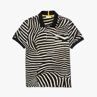 lacoste x national geographic, polo, collectie, krokodil, dierenprints