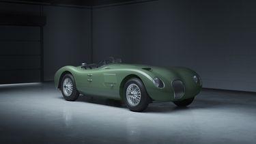 e Jaguar C-type blaast dit jaar zeventig kaarsjes uit