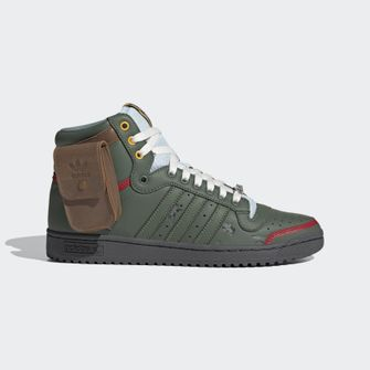 adidas, top ten hi, boba fett, star wars, sneakers, 1