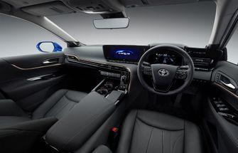 Interieur Toyota Mirai waterstof