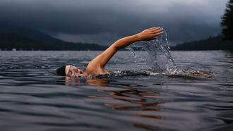 zwemmen, koud open water, gezondheidsvoordelen, gezond