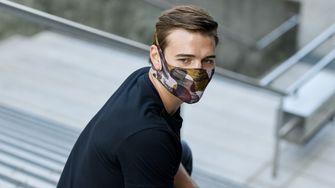 buff, mondkapje, filter masker