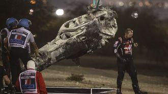 Formule 1 crash Grosjean