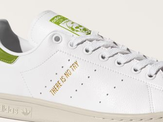 adidas star wars, yoda, sneakers, stan smith, there is no try